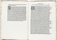 [Bartholomaeus Merula, editor]. Quintus Curtius Rufus.