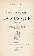 [Camille Saint-Saëns]. Émile Baumann. Les Grandes forme