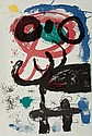 JOAN MIRÓ (Spanish, 1893-1983) La vendangeuse, 1964 Lit