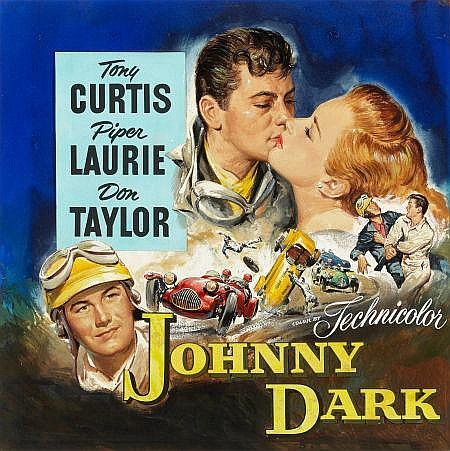 Brown, Reynold - Johnny Dark Poster Art