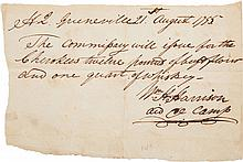 William Henry Harrison Autograph Document Signed