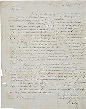 Senator Henry Clay Autograph Letter Signed