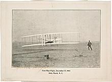 Orville Wright Photograph Signed.