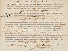 John Hancock Military Appointment Signed