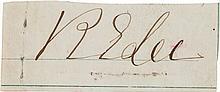 Robert E. Lee Signature