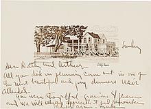 Lyndon B. Johnson Autograph Letter Signed