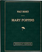 Mary Poppins Leather Bound Publicity/Press Photo Albums