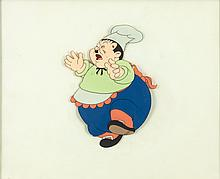 Mother Goose Goes Hollywood Oliver Hardy Production Cel