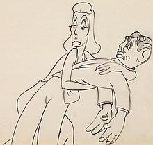 Autograph Hound Greta Garbo and Clark Gable Animation D