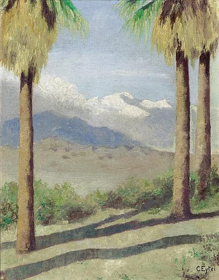CARL A. EYTEL (German, 1862-1925) California
