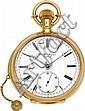 J. Alfred Jurgensen First Quality 18k Gold Minute Repea