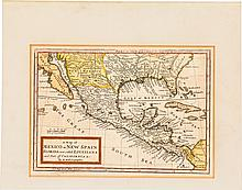 [Map]. Herman Moll. A Map of Mexico or New Spain Florid