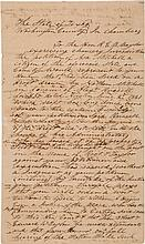 Asa Mitchell Autograph Petition Signed.