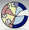 ROY LICHTENSTEIN (American, 1923-1997) Künstlerteller,, Roy Lichtenstein, $240