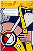 ROY LICHTENSTEIN (American, 1923-1997) Aspen Winter Jaz, Roy Lichtenstein, $2,000