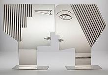 FRANZ HAGENAUER (Austrian, 1906-1986) Pair of Heads, ci