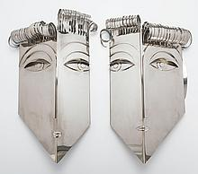 FRANZ HAGENAUER (Austrian, 1906-1986) Untitled (pair of