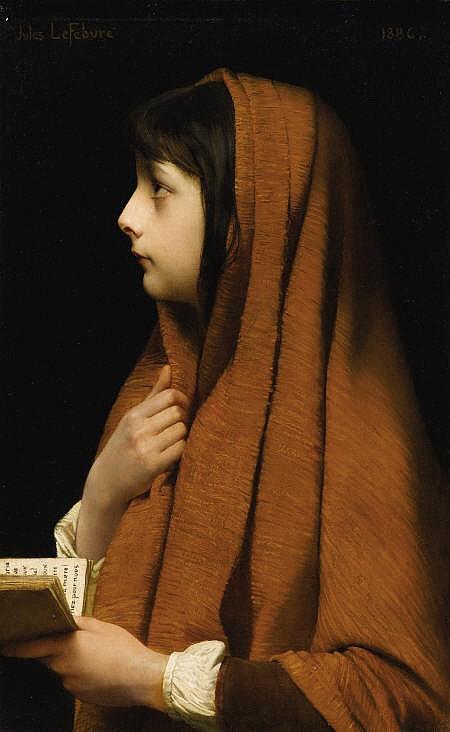 JULES JOSEPH LeFEBVRE (French 1836 - 1912)
