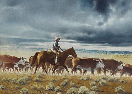 WALTER HOOK (American 1919 - 1989)