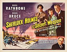 Sherlock Holmes and the Secret Weapon (Universal, 1942)