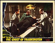 The Ghost of Frankenstein (Universal, 1942). Lobby Card