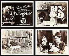 A Dog's Life (First National, 1918). Lobby Card Set of