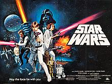 Star Wars (20th Century Fox, 1978). British Quad (30