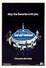 Star Wars (20th Century Fox, 1978). One Sheet (27.25