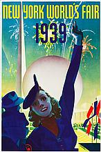 New York's World's Fair Travel Poster (Grinnell Litho.C