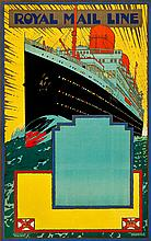 Royal Mail Travel Poster (1933). Stock Poster (25