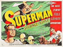 Superman and the Mole Men (Lippert, 1951). British Quad