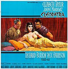 Cleopatra (20th Century Fox, 1963). Six Sheet (83.5