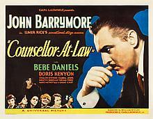 Counsellor at Law (Universal, 1933). Half Sheet (22