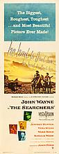 The Searchers (Warner Brothers, 1956). Insert (14