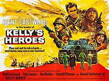 Kelly's Heroes (MGM, 1970). British Quad (30