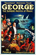 George --The Supreme Master of Magic (Otis Litho, Mid 1