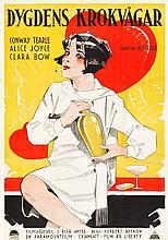Dancing Mothers (Paramount, 1926). Swedish One Sheet (2