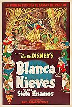 Snow White and the Seven Dwarfs (RKO, 1937). Argentinea