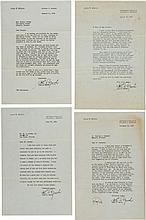 A John Marsh Group of Letters, 1950.