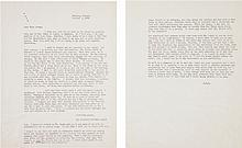 A Margaret Mitchell File Copy Letter Discussing the Fil