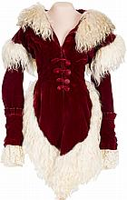 An Ona Munson Period Fancy Jacket and Muff from