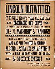 A Prop Broadside Poster from