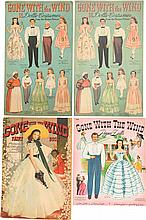 A Group of Vintage Paper Dolls and Coloring Books Relat