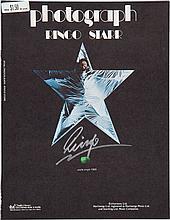 Beatles - Ringo Starr Autographed