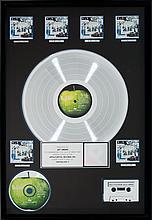 Beatles Anthology 1 RIAA Multi-Platinum Record Award (A