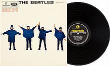 Beatles Help! UK Pressing Stereo LP (Parlophone 3071, 1