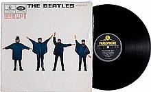 Beatles Help! UK Pressing Stereo LP (UK - Parlophone 30