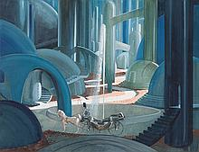 A Pre-Production Concept Painting by Jack Martin Smith