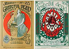 Grateful Dead Avalon Ballroom Concert Poster Group (Fam