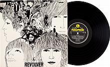 Beatles Revolver Stereo LP (UK - Parlophone 7009, 1966)